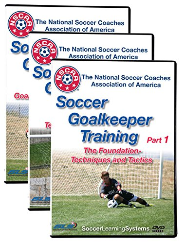 Soccer Goalkeeper Training 3 DVD Set
