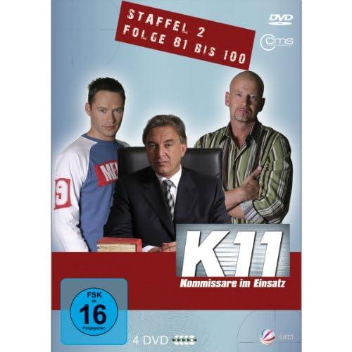K11 Kommissare im Einsatz: Staffel 2, Folge  81-100 (4 DVDs)