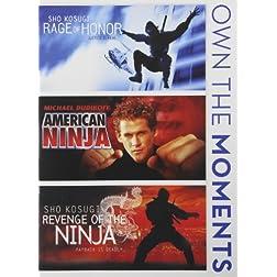 Rage of Honor / American Ninja / Revenge of Ninja