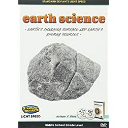 Light Speed Earth Science Module 3: Earth's Changing Surface and Earth's Energy Sources