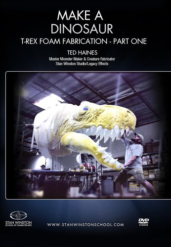 Make a Dinosaur - T-Rex Foam Fabrication - Part One: Learn the art of Foam Fabrication from a Special Effects and Monster Making Master.