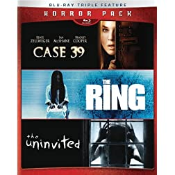 Horror Pack: Ring / Case 39 / Uninvited [Blu-ray]