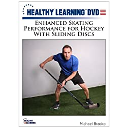 Enhanced Skating Performance for Hockey With Sliding Discs