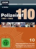 Polizeiruf 110 - Box 10: 1981-1983 (DDR TV-Archiv) (4 DVDs)