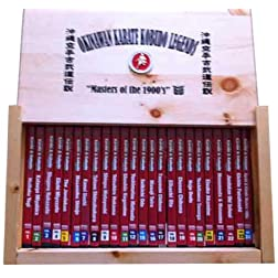 #1-24 Okinawan Karate and Kobudo DVDs Wooden Box Set