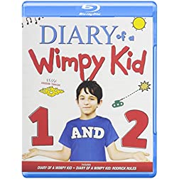 Diary of a Wimpy Kid 1 & 2 [Blu-ray]