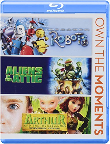 Robots/Aliens in the Attic/Arthur & Invisibles 2&3 [Blu-ray]