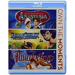 Anastasia/Ferngully/Thumbelina [Blu-ray]