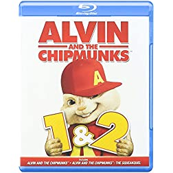 Alvin & the Chipmunks 1 & 2 [Blu-ray]