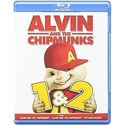 Alvin & the Chipmunks 1 & 2 [Blu-ray]