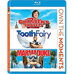 Gullivers Travels/Tooth Fairy/Marmaduke [Blu-ray]