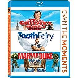 Gullivers Travels/Tooth Fairy/Marmaduke [Blu-ray]