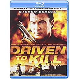 Driven to Kill Bonus DVD Content Included [Blu-ray]