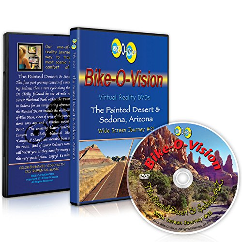Bike-O-Vision Cycling Journey- The Painted Desert & Sedona, Arizona (Widescreen DVD #21)
