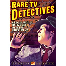 Rare TV Detectives: Martin Kane / Boston Blackie / I'm The Law / Follow That Man