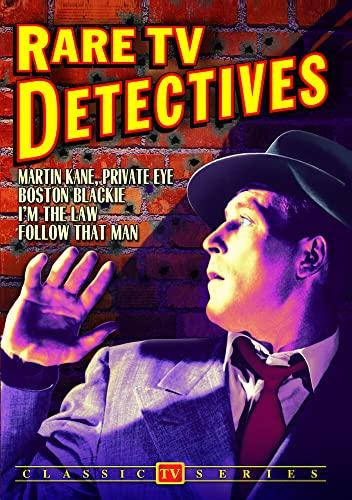 Rare TV Detectives: Martin Kane / Boston Blackie / I'm The Law / Follow That Man