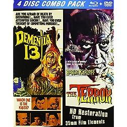 Terror / Dementia 13 [Blu-ray]