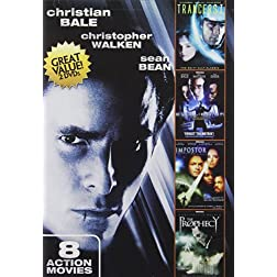 8-Movie Action: Christian Bale & Joseph Gordon