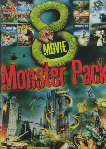8-Movie Monster Pack