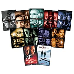 X-files S1-9+movies Bundle-az
