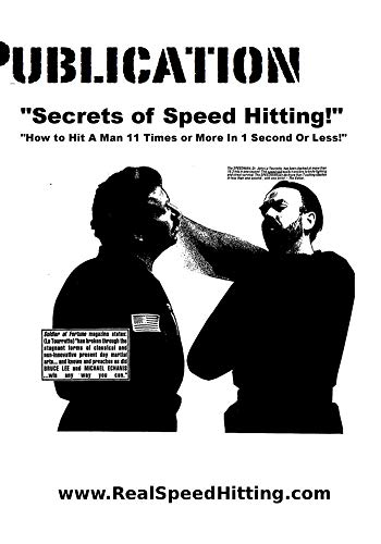 Secrets of Speed Hitting! How to Hit a Man 11 Times or More in 1 Second or Less