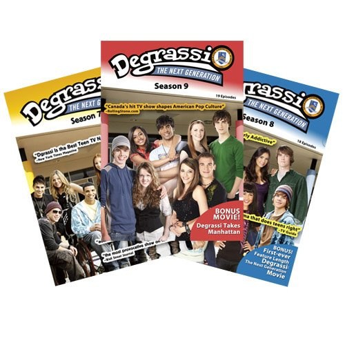 Degrassi: The Next Generation Seasons 7, 8, 9