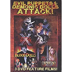 Evil Puppets & Demonic Dolls Attack!
