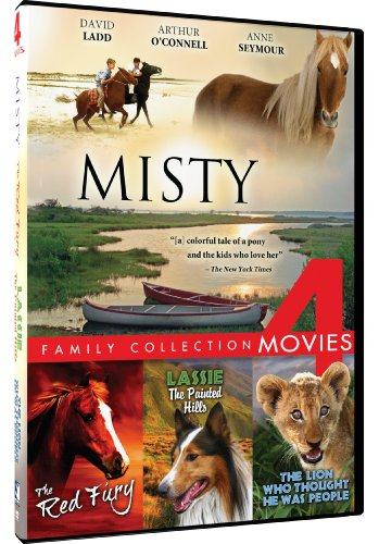 Misty/Red Fury/Lassie-Painted/Lion Who Thought