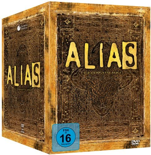Alias Complete Collection, Staffel 1-5 (29 DVDs)