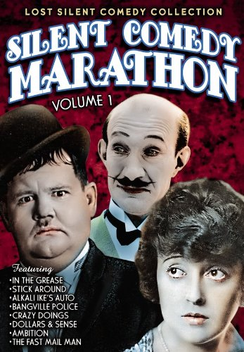 Silent Comedy Marathon: In The Grease (1925) / Stick Around (1925) / Alkali Ike's Auto (1911) / Bangville Police (1913) / Crazy Doings (1929) / Dollars and Sense (1917) / Ambition (1917) / Fast Mall Man (1922)