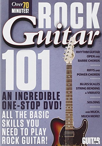 Guitar World -- Rock Guitar 101: An Incredible One-Stop DVD! All the Basic Skills You Need to Play Rock Guitar! (DVD)