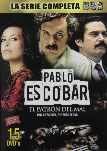 Serie Completa De Pablo Escobar: Patron Del Mal