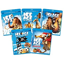 Ice Age 1-4 +xmas Bd Bundle-az [Blu-ray]