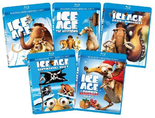 Ice Age 1-4 +xmas Bd Bundle-az [Blu-ray]