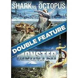 Mega Shark vs. Giant Octopus / Monster