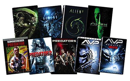 Alien + Predator DVD Bundle