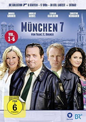 München 7 Staffel 1-6 (17 DVDs)