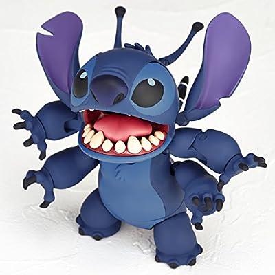 figure complex ムービー・リボ Stitch (Experiment 626) スティッチ (試作品626号) 約90mm ABS&PVC製 塗装済みアクションフィギュア リボルテック