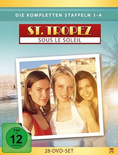Saint Tropez Staffel 1-4 Box (28 DVDs)