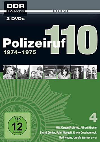 Polizeiruf 110 Box  4: 1974-1975 (DDR TV-Archiv) (3 DVDs)