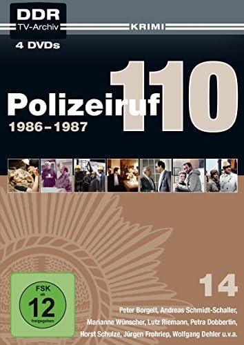 Polizeiruf 110 Box 14: 1986-1987 (DDR TV-Archiv) (4 DVDs)