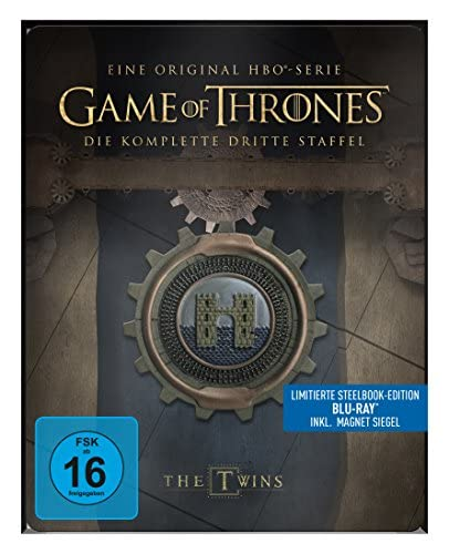 Game of Thrones Staffel 3 (Steelbook) [Blu-ray]