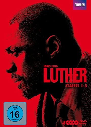 Luther Staffel 1-3 (4 DVDs)