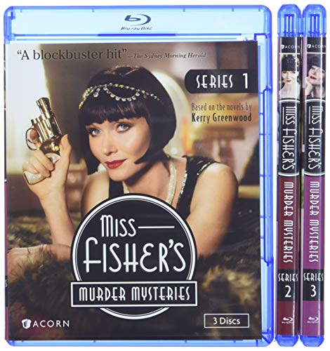 Miss Fisher's Murder Mysteries Series 1-3 Collection [Blu-ray]