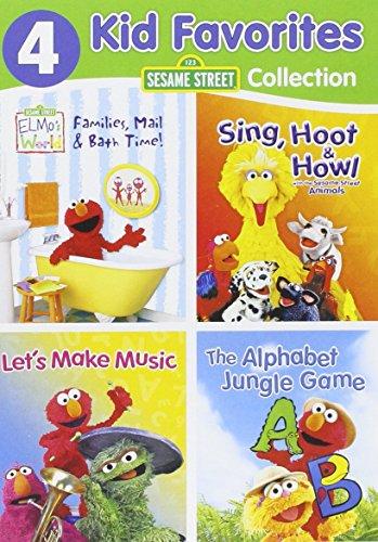 4 Kid Favorites: Sesame Street Learning
