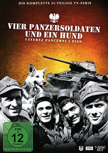 Vier Panzersoldaten und ein Hund 7 DVDs