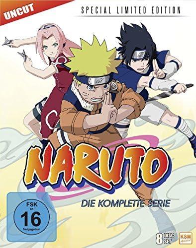 Naruto Gesamt-Box (Special Limited Edition) [Blu-ray]