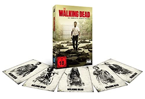 The Walking Dead Staffel 6 (Uncut) (Limited Edition inkl. Postkarten) (exklusiv bei Amazon.de) (6 DVDs)