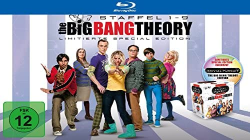 The Big Bang Theory Staffeln 1-9 (Limited Edition inkl. Trivial Pursuit) (exklusiv bei Amazon.de) [Blu-ray]