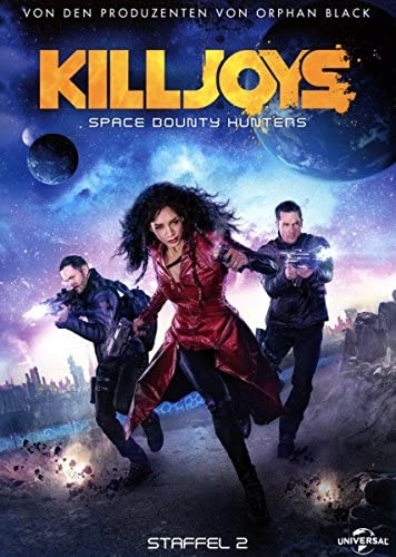 Killjoys - Space Bounty Hunters: Staffel 2 [Blu-ray]